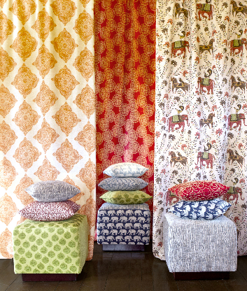 Spruce Upholstery Fabric Finds John Robshaw From Duralee