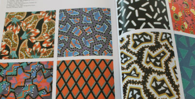 Eighties Patterns in Textile Design