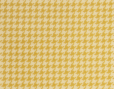 Fabricut Houndstooth yellow