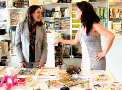stella and dot party at Spruce