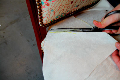 release cut tips Spruce upholstery