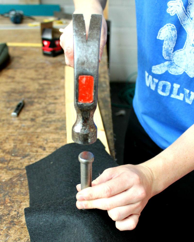 6 hammer grommet and washer together tip grommets 6