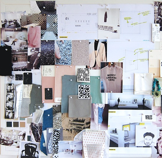Inspiration board, courtesy of keehnankonyha.com.
