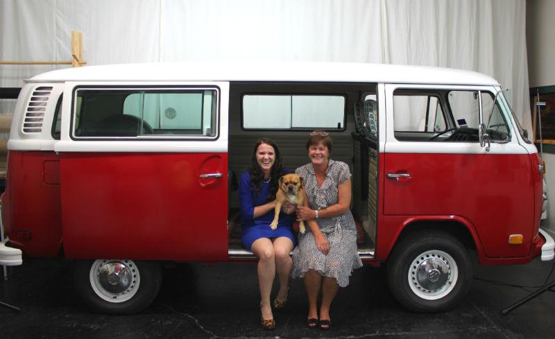 Katherine and mom