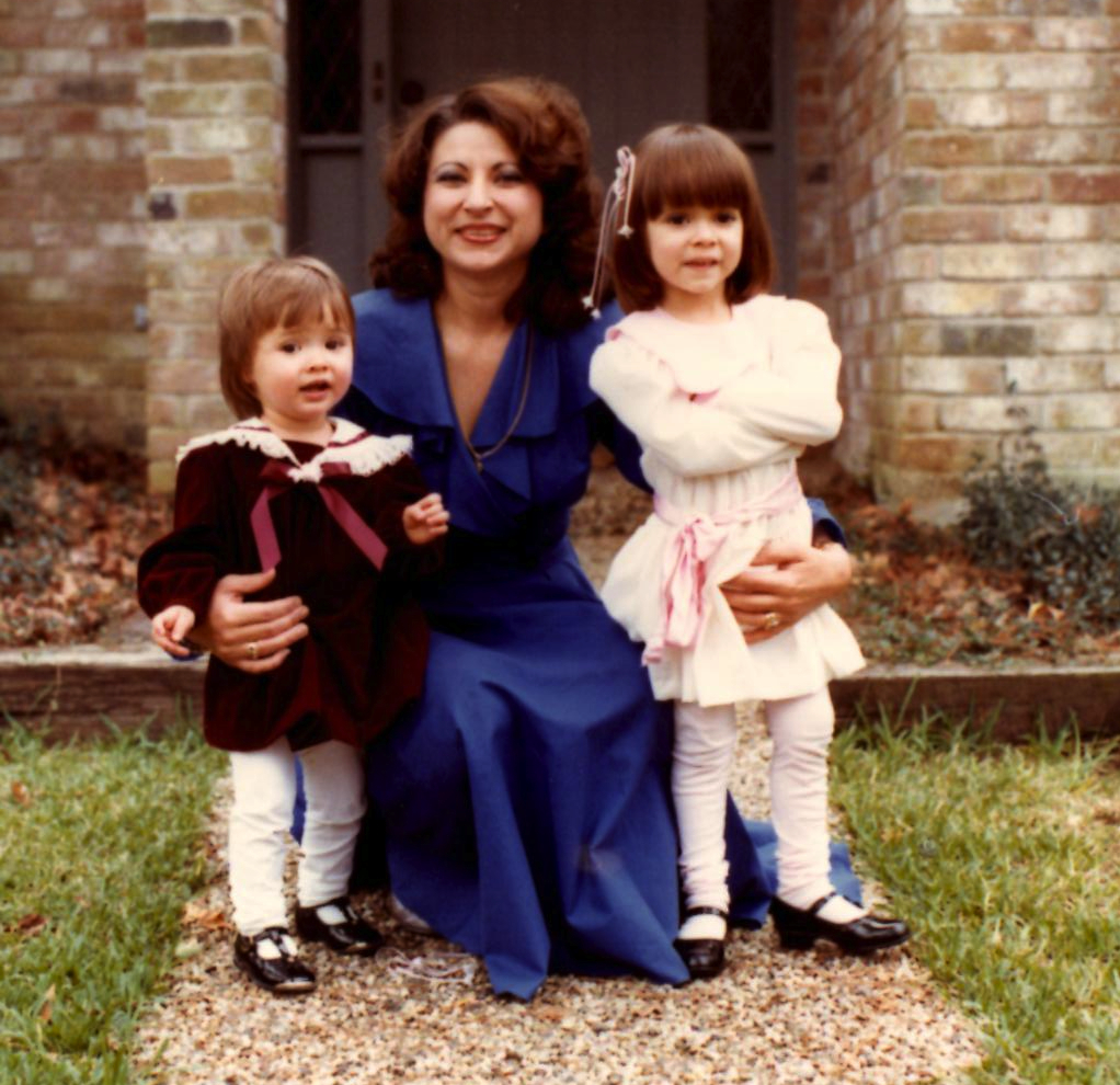 mom and us